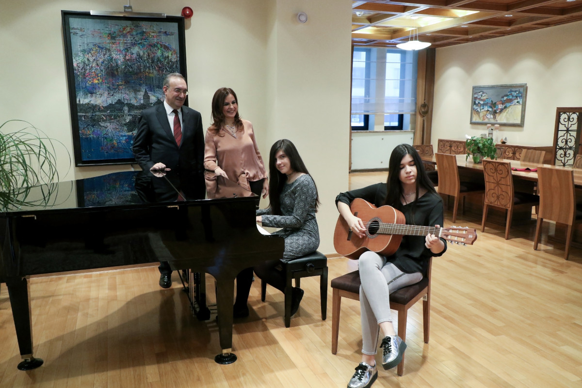 We visited the Turkish Ambassador and his family: What gives us the